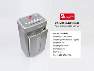 Paper shredder gr-ps463