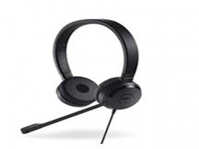 Headset Dell Pro Stereo UC300 (USB) (P/N: 03WTMD)