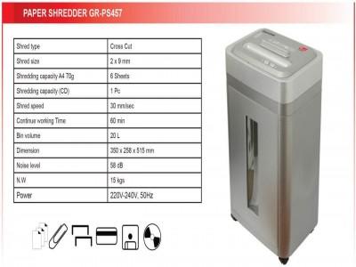 PAPER SHREDDER GR-PS457