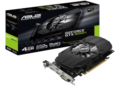 Asus GTX Ph 1050 Ti 4 GB