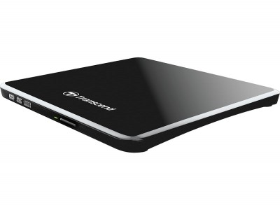 Transcend 8X Ultra Slim USB DVD Black