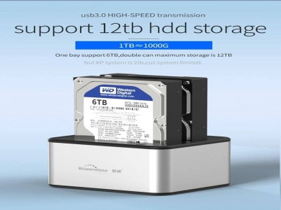 support 12tb hdd storge