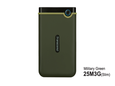 Ext StoreJet Green Transcend 3.1