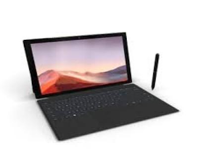 Microsoft surface pro 7 (no pen and key) Black