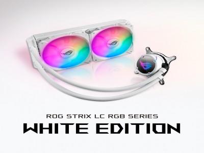 ROG STRIX LC240 RGB WHITE EDITION