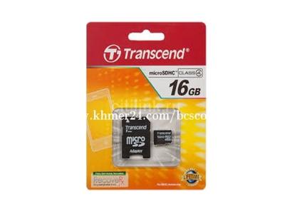 Transcend microSDHC16GB