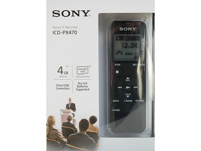 Voice Recorder Sony ICD-PX 470