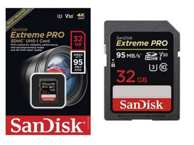 SanDisk Extreme Pro 4K 32GB