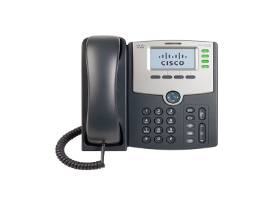 Cisco 4 Line IP Phone With Display PoE and PC Por