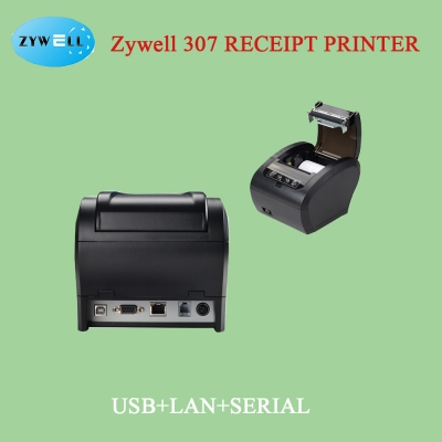 Zywell 307 Receipt Printer( Bt+USB+Lan)