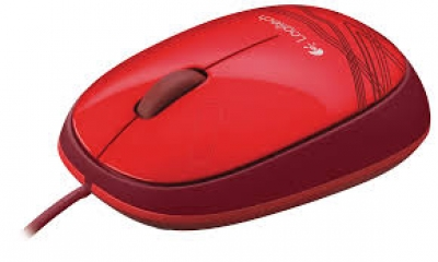 Mouse Optical Logitech M105 Red