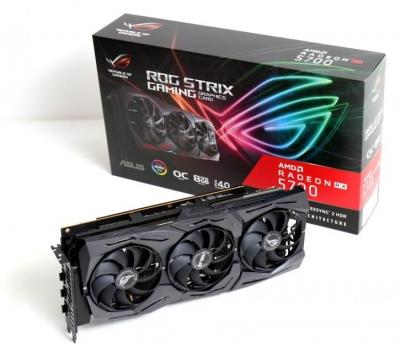 ASUS VGA AMD ROG-Strix-RTX5700-O8G Gaming