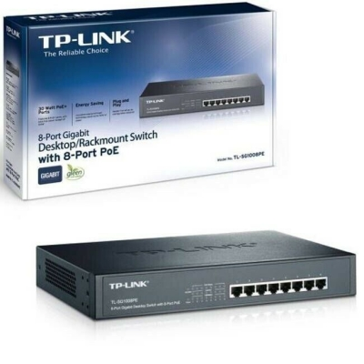 TP-LINK TL-SG 1008PE