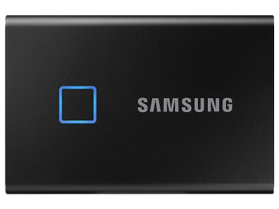 SAMSUNG T7 External SSD 500GB Touch With Finger Pr
