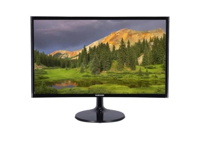 SAMSUNG LED Monitor LC24F390FHEXXT 23.5' Curved Sc